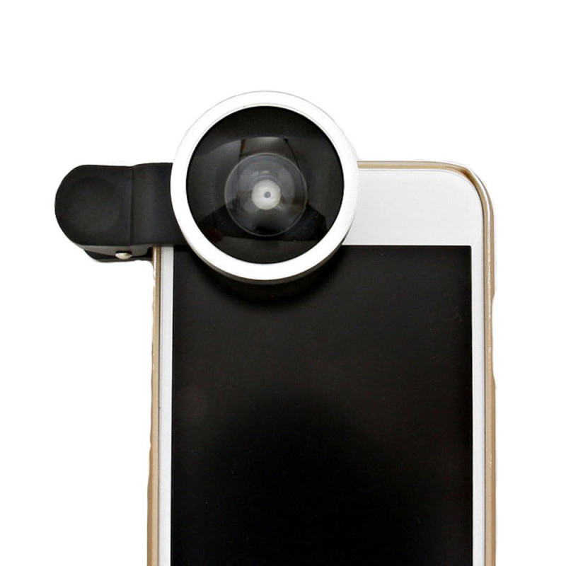 Selfie Cam Lens เลนส์เซลฟี่ (สีเงิน)