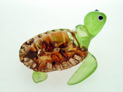 เต่าแก้วเป่า Glass Figurine Turtle