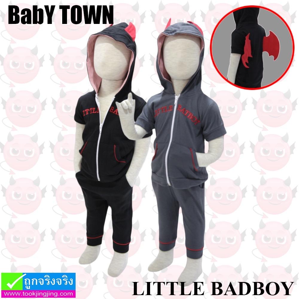 ชุด เสื้อกางเกง เด็ก Baby Town LITTLE BATBOY ราคา 240 บาท ปกติ 720 บาท