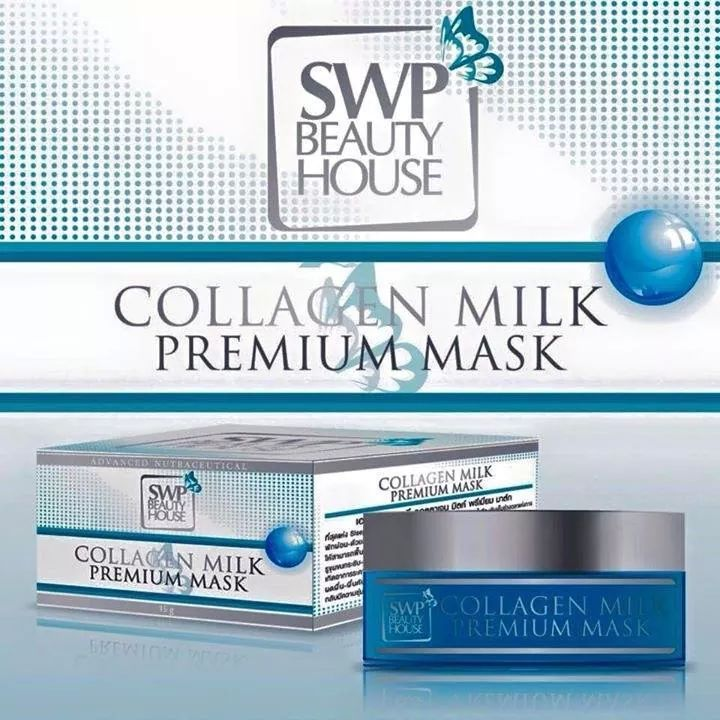 Collagen Milk Premium Mask by SWP Beauty House ขนาด 15 g