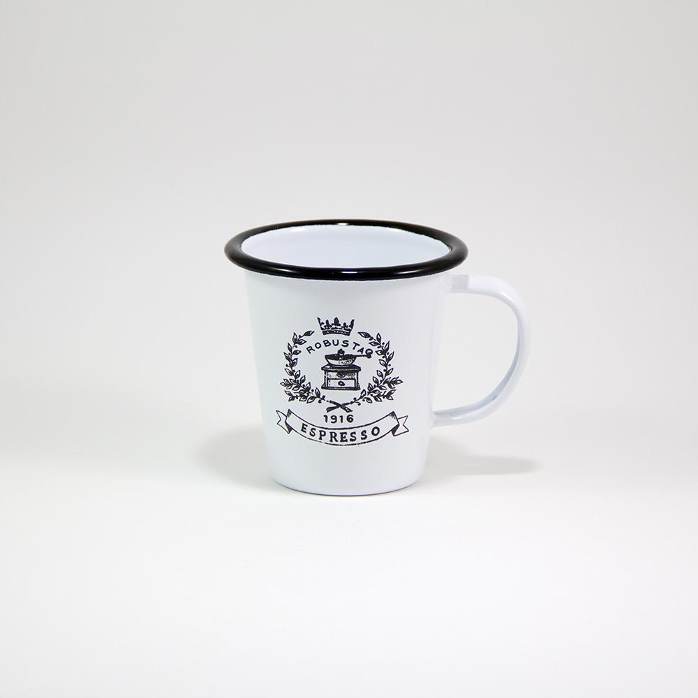 9cm Enamel Mug