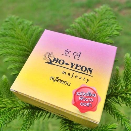 สบู่โฮยอนระเบิดขี้ไคล Ho-Yeon 80g.