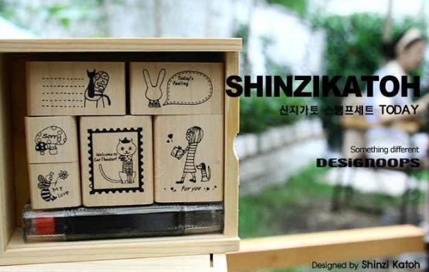 ชุดตัวปั้ม Combination + Inkpad