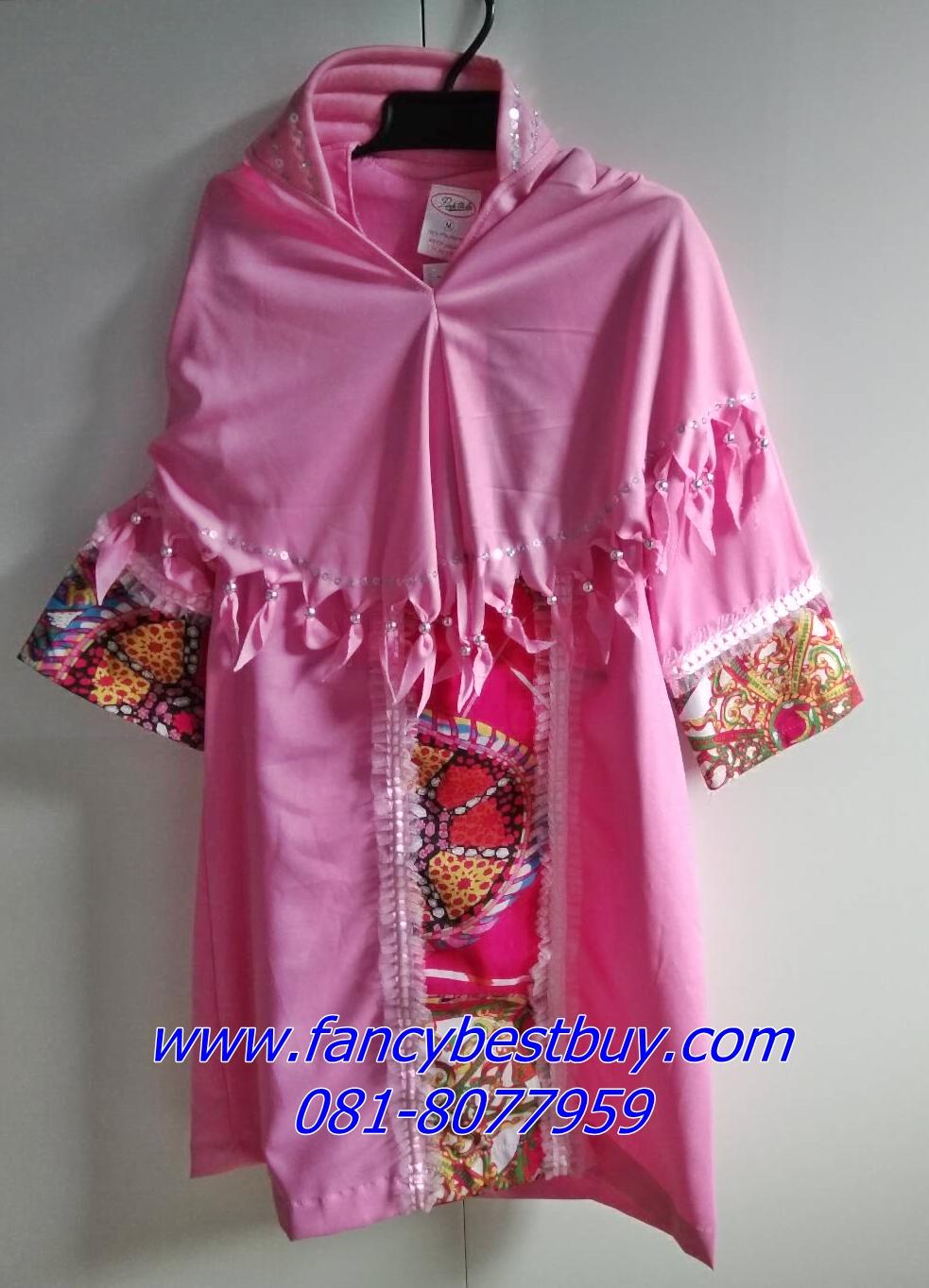 ชุดประจำชาติอินโดนีเซีย indonesia สำหรับเด็กหญิง ขนาด M (เหมาะกับเด็ก 100-115 ซม)