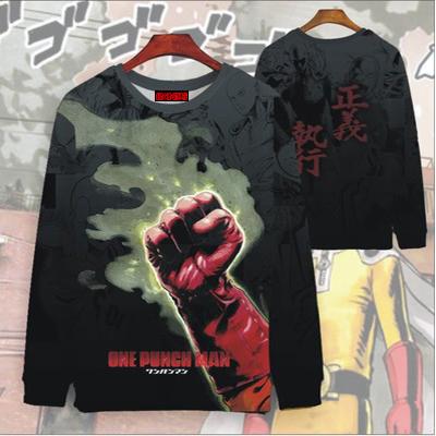 เสื้อยืดแขนยาวไซตามะ One Punch Man(แบบที่ 2)