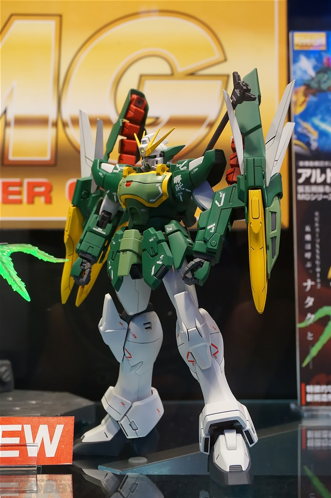 (ล็อตที่2)(ล็อต JP)(โปรดอ่านรายละเอียดก่อนการจองนะครับ)Pre-Order: P-bandai: MG 1/100 Altron Gundam EW 4860yen มัดจำ500บาท สินค้าเข้าไทยเดือน 12