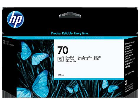 HP 70 130-ml Photo Black DesignJet Ink Cartridge (C9449A)