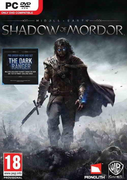 Middle Earth Shadow of Mordor ( 9 DVD )