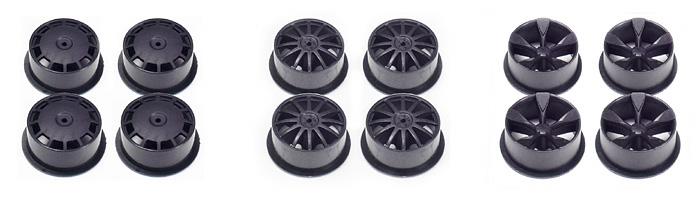 Carbon Reinforced Wheel Set (Low Profile)