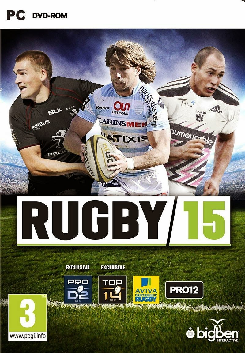 Rugby 15 ( 1 DVD )