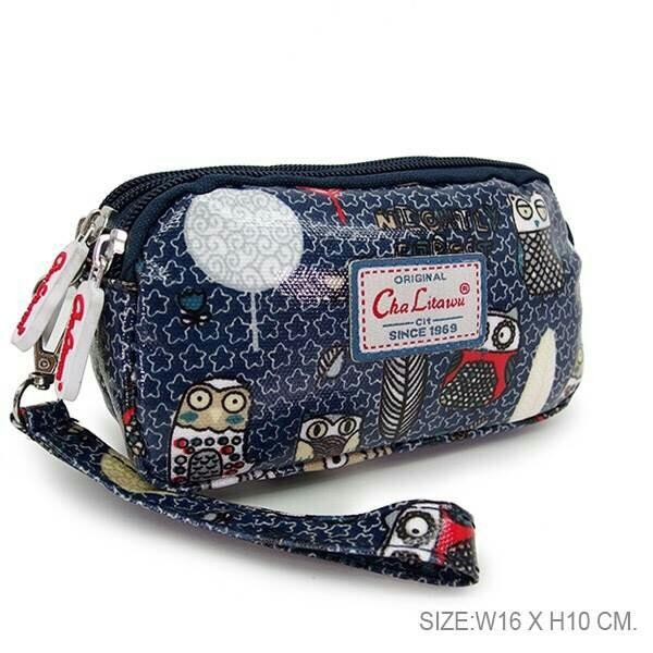 กระเป๋าคล้องมือ 3 ซิป