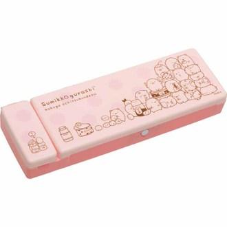 กล่องดินสอ Sumikko Gurashi 2 ช่อง สีชมพู