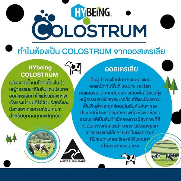 hybeing colostrum australia