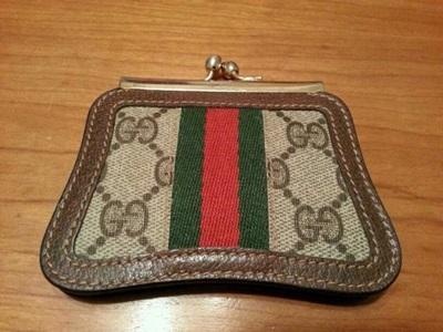 RARE ITEM สินค้าแบรนด์เนมมือสอง กระเป๋าใส่เศษเหรียญ GUCCI รุ่น Vintage