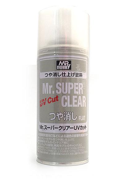 B523 Mr Super Clear UV Cut (Flat) 170ml