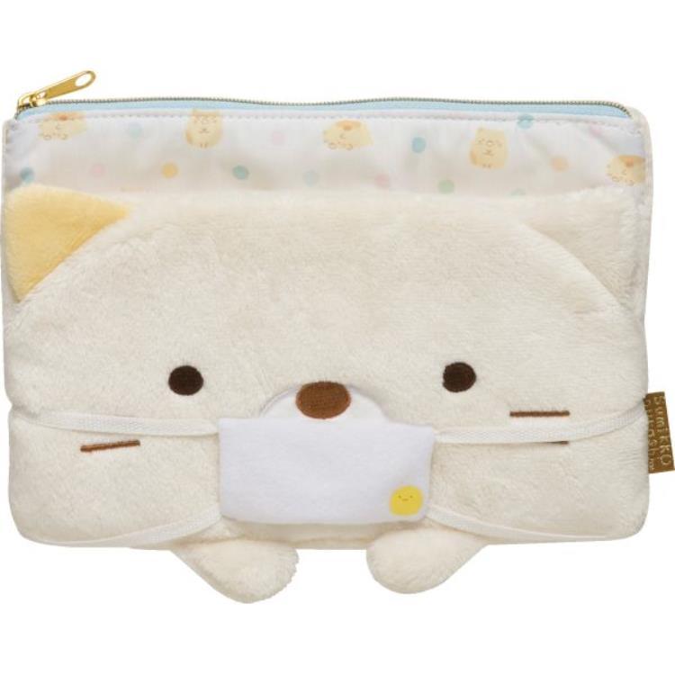 กระเป๋าใส่หน้ากาก Sumikko Gurashi แมว